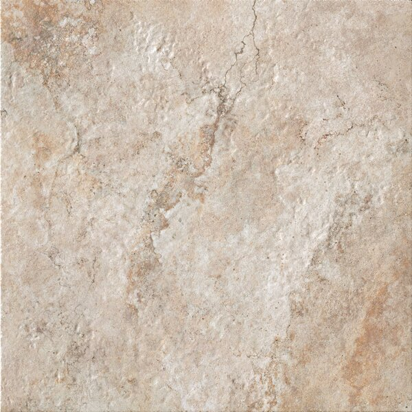 Forge 20 x 20 Porcelain Field Tile in Beige by Bedrosians