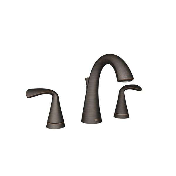 Fluent Two-Handle Widespread Bathroom Faucet with Drain Assembly by American Standard