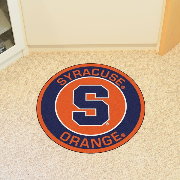 NCAA Syracuse University Roundel Mat by FANMATS