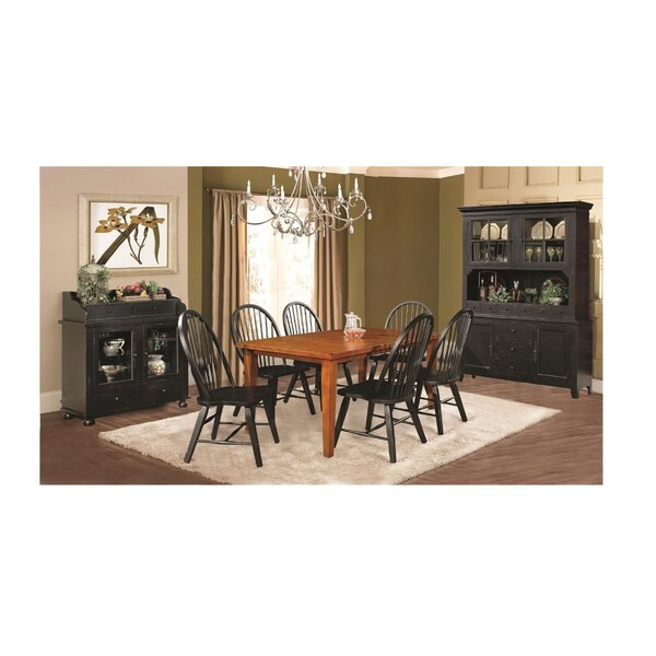 ClipperCove Extendable Solid Wood Dining Table By August Grove