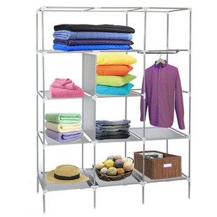 Price Check 68.9 W Fabric Cloth Wardrobe By JTplus