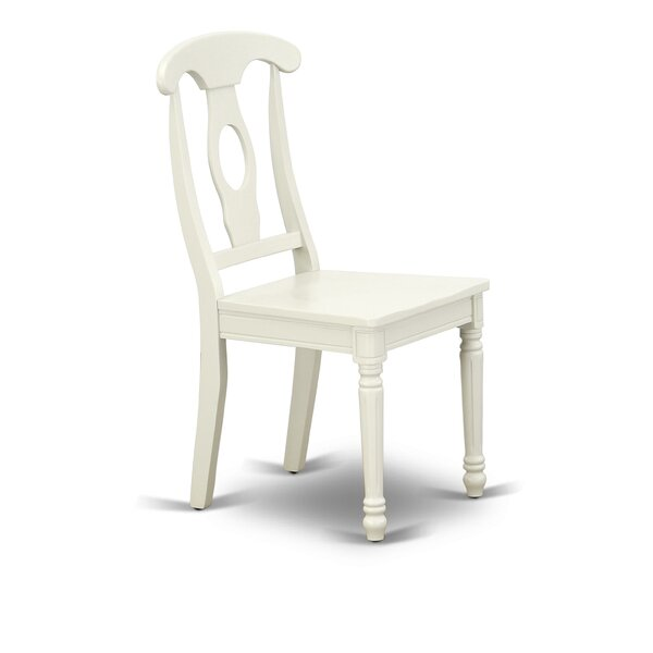 Clara Solid Wood Dining Chair (Set of 2) by Rosalind Wheeler