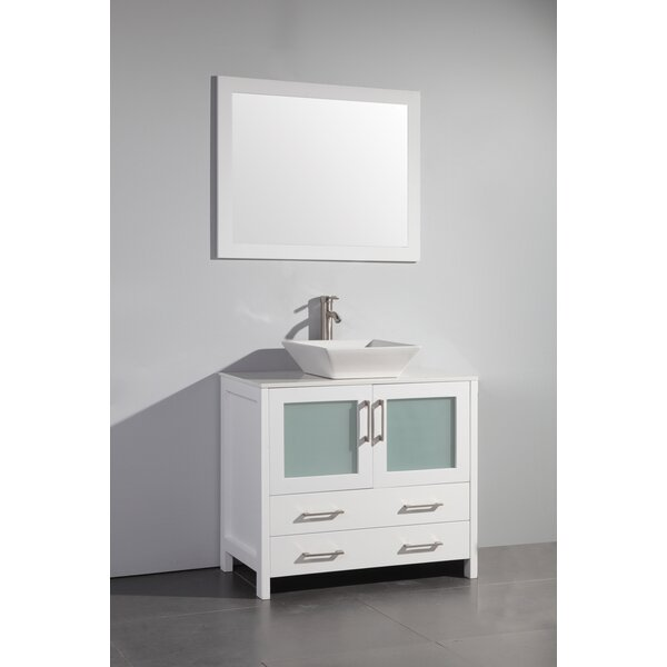Karson 36 Single Bathroom Vanity by Wade Logan