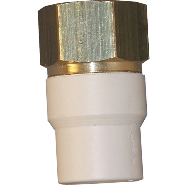 Low Lead CPVC Transition Adapter by GenovaProducts