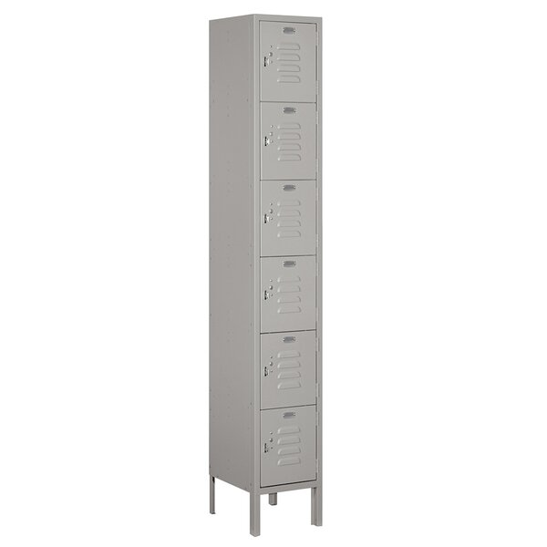6 Tier 1 Wide Employee Locker by Salsbury Industries