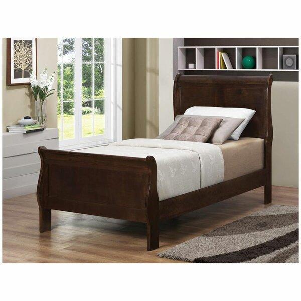 Svartalfar Sleigh Bed by Winston Porter