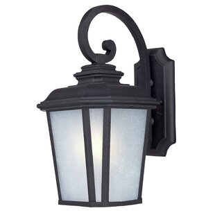 Best Reviews Melrose 1-Light Outdoor Wall Lantern By Darby Home Co