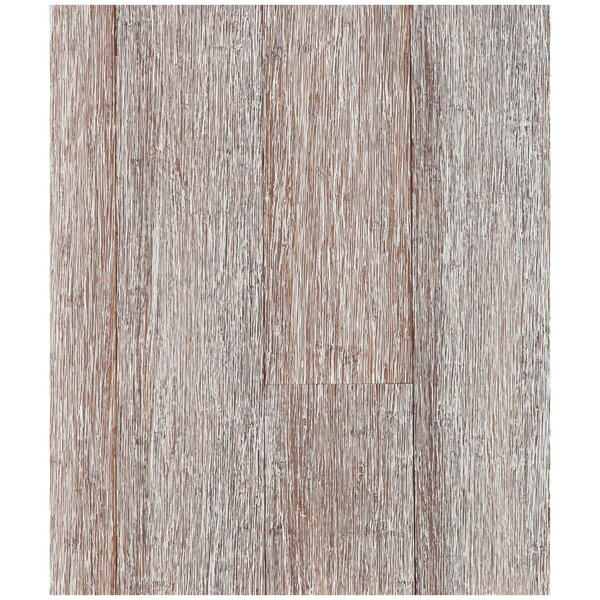 4-3/4 Solid Strand Woven Bamboo  Flooring in Winter Wheat by Easoon USA