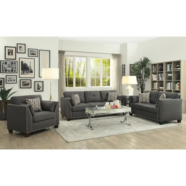 Draco Configurable Living Room Set by Alcott Hill