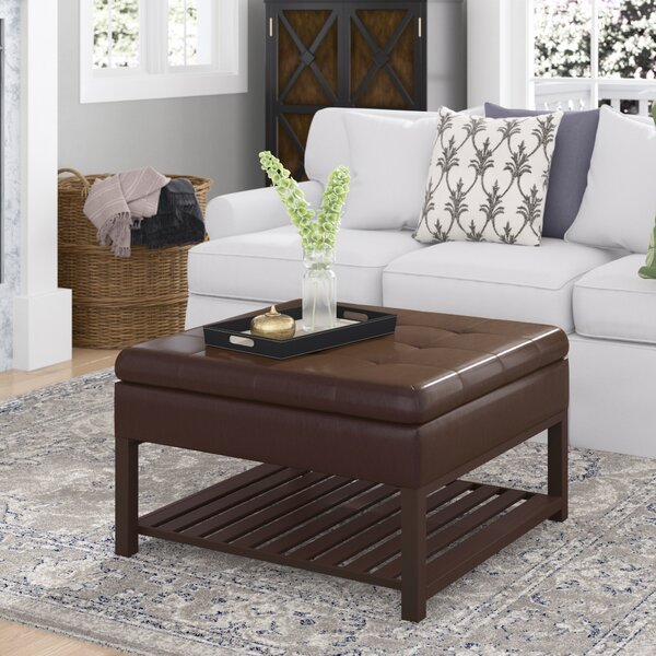 Dillonvale Tufted Storage Ottoman by Alcott Hill