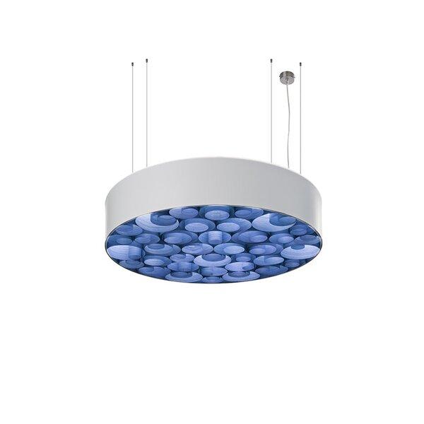 Spiro 10-Light Drum Chandelier by LZF