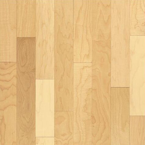 5 Solid Maple Hardwood Flooring in Natural by Bruce Flooring