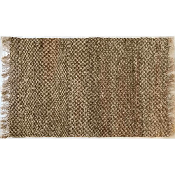 Parkerson Hand-Braided Natural Indoor/Outdoor Area Rug by Bungalow Rose