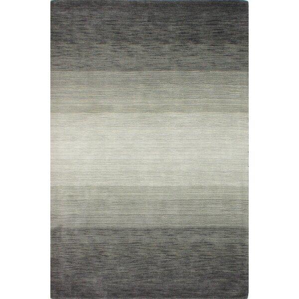 Kimberley Hand-Woven Charcoal Area Rug by Latitude Run