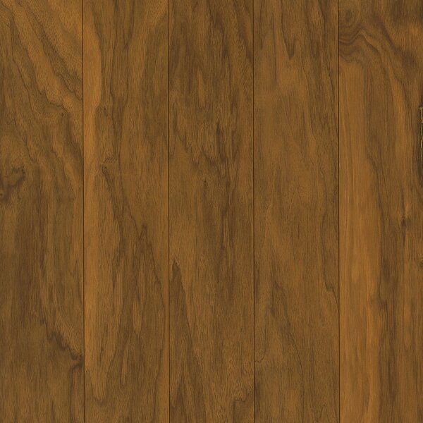 Perf Plus 5 Engineered Walnut Hardwood Flooring in Warm Clay by Armstrong Flooring