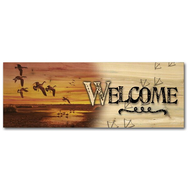 Welcome Requiem Graphic Art Plaque by WGI-GALLERY