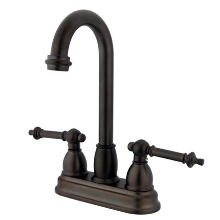 Tremont Double Handle Kitchen Faucet by Kingston Brass