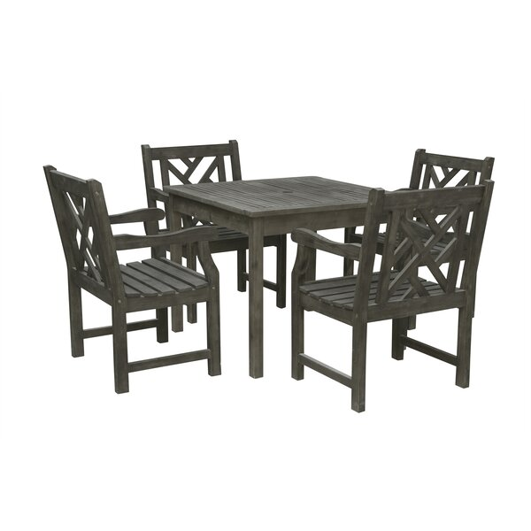 Shelbie 5 Piece Patio Dining Set by Sol 72 Outdoor