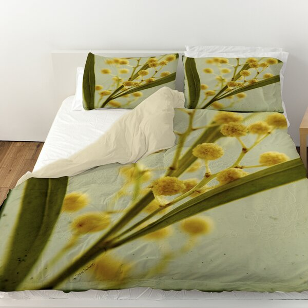 Vintage Botanicals 1 Duvet Cover by Manual Woodworkers & Weavers