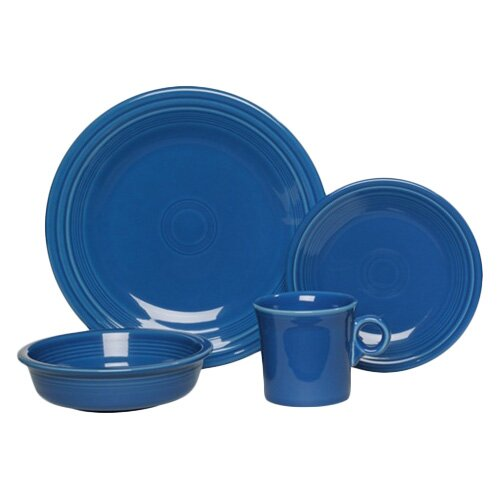 16 Piece Dinnerware Set, Service for 4 by Fiesta