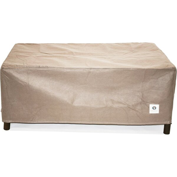 Elite 56 Rectangle Fire Pit Cover by Duck Covers