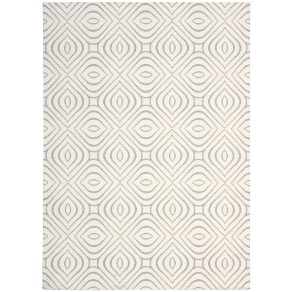 Rhea Ivory Area Rug by Mercury Row