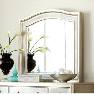 Reviews Annunziata Arch Bathroom/Vanity Mirror ByWilla Arlo Interiors