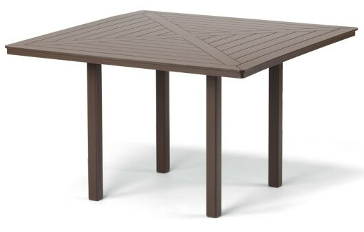 Marine Grade Polymer Square Dining Table by Telescope Casual