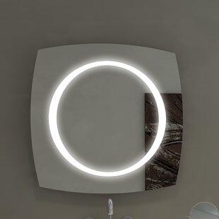 Affordable Halo Illuminated Bathroom/Vanity Wall Mirror ByParis Mirror