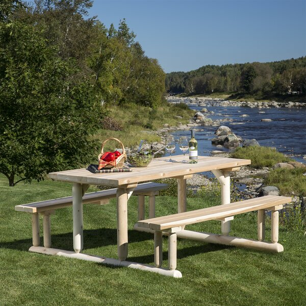 Humnoke Picnic Table by Loon Peak