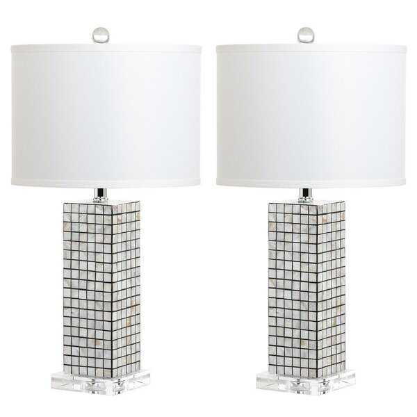 Bosworth 24.25 Table Lamp (Set of 2) by Rosecliff Heights