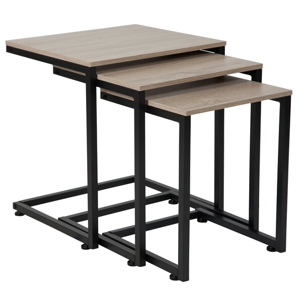 Nault 3 Piece Nesting Tables By Ebern Designs
