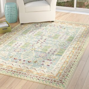 Carrico Blue Area Rug