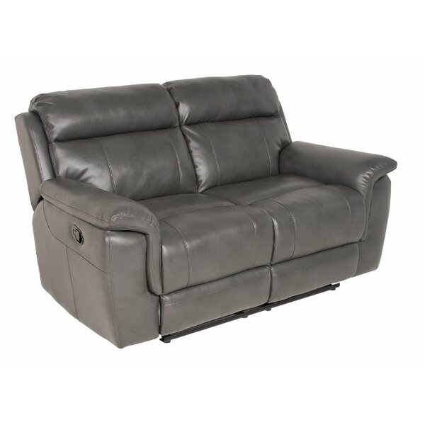 Stay On Trend This Randel Reclining Loveseat by Red Barrel Studio by Red Barrel Studio