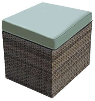 Hampton Ottoman with Cushion by Forever Patio