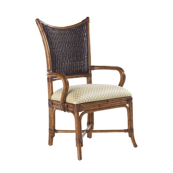Island Estate Mangrove Upholstered Dining Chair (Set of 2) by Tommy Bahama Home Tommy Bahama Home