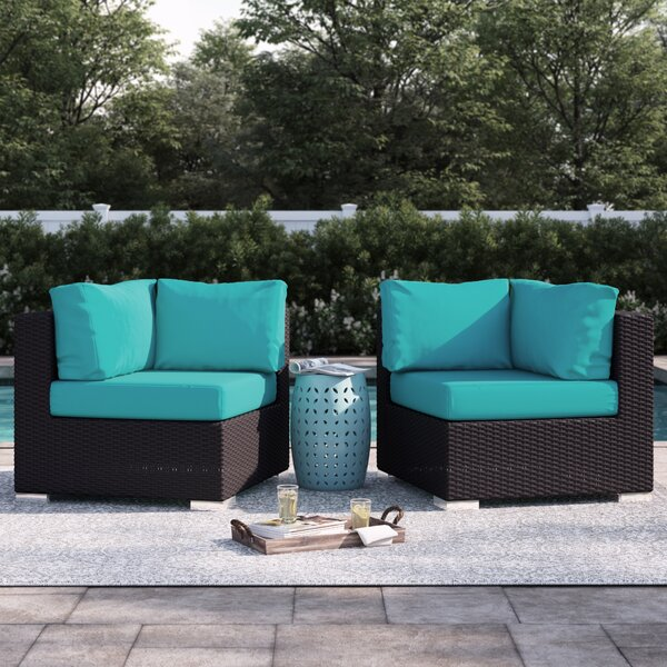 Brentwood Corner Chair with Cushions by Sol 72 Outdoor