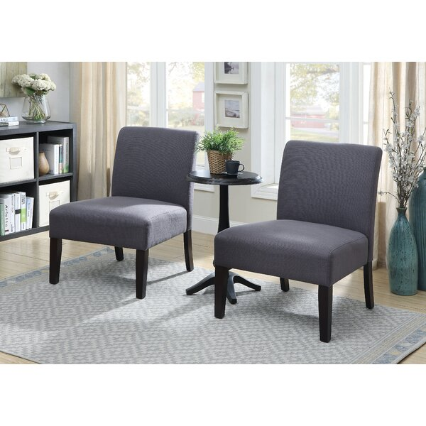 Gerner 3 Piece Slipper Chair Set by Ebern Designs Ebern Designs