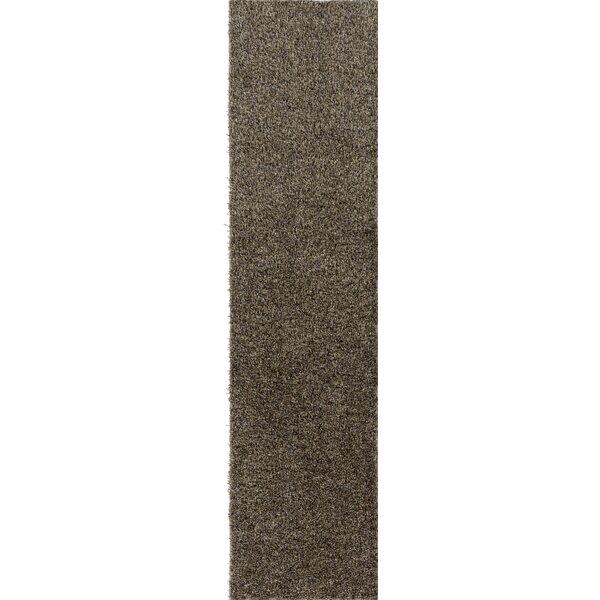 Dulcia Solid Gray Area Rug by Ivy Bronx