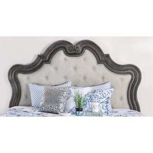 Portsmouth Traditional Upholstered Panel Headboard by One Allium Way