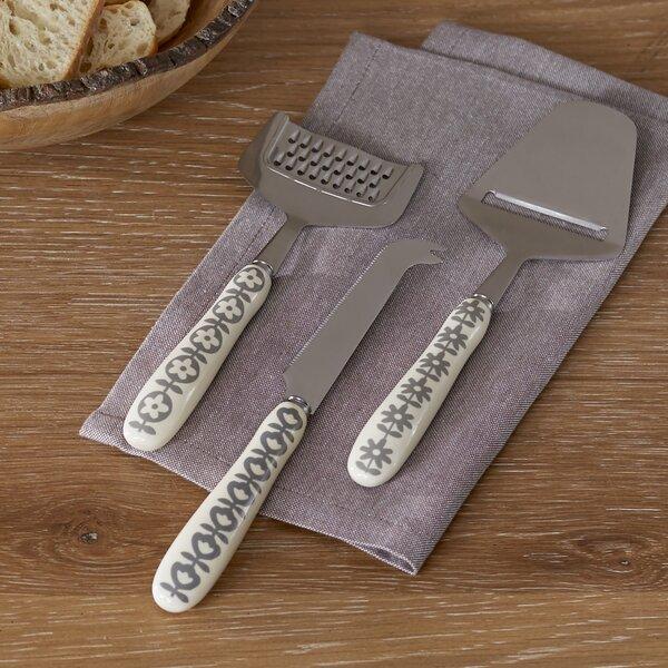 Culvert 3-Piece Cutlery Set by Birch Lane™