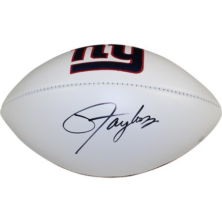 Decorative Lawrence Taylor Signed New York Giants Panel Jarden Signature Football by Steiner Sports