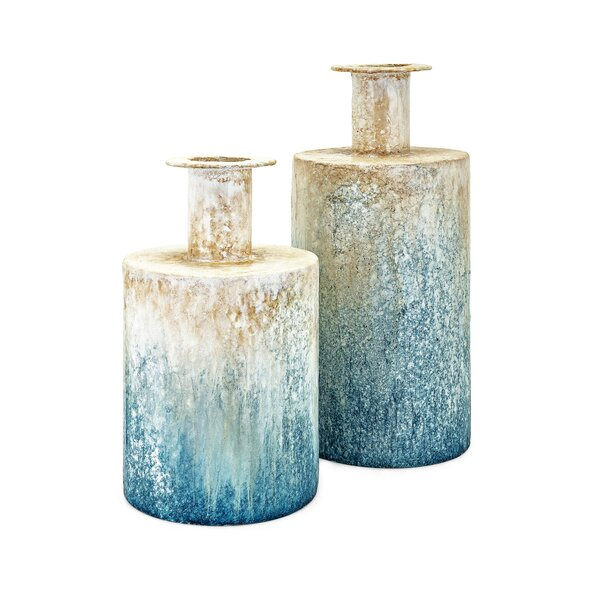 Deeanna Thady 2 Piece Table Vase Set by Highland Dunes