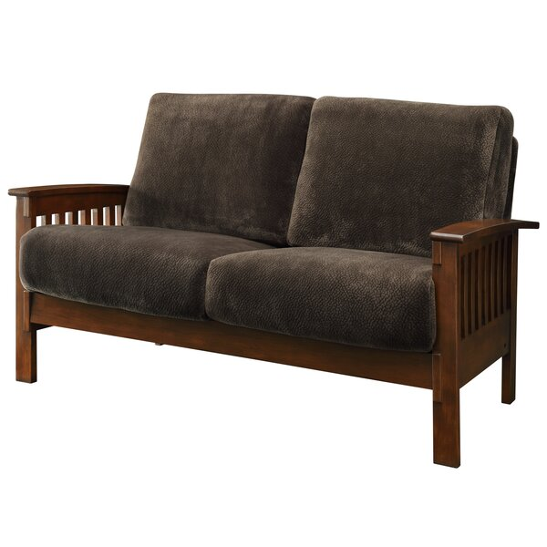 Encinal Mission Loveseat By Three Posts