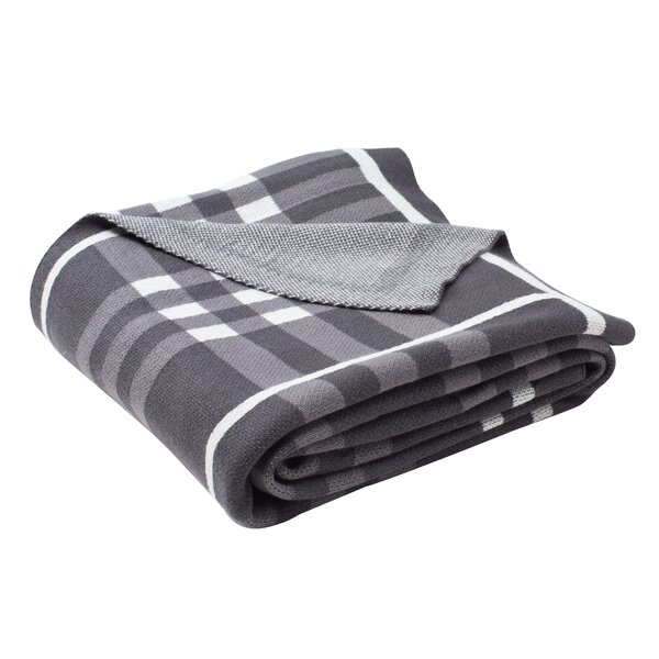 Cozad Cotton Knit Throw by Darby Home Co