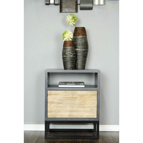 Bremer End Table with Storage by Union Rustic