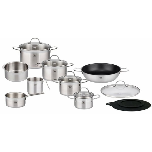 14 Piece 18/10 Stainless Steel Induction Cookware Set by Westmark