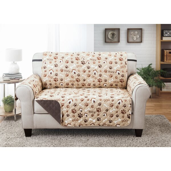 Print T-Cushion Love Seat Slipcover by Winston Porter