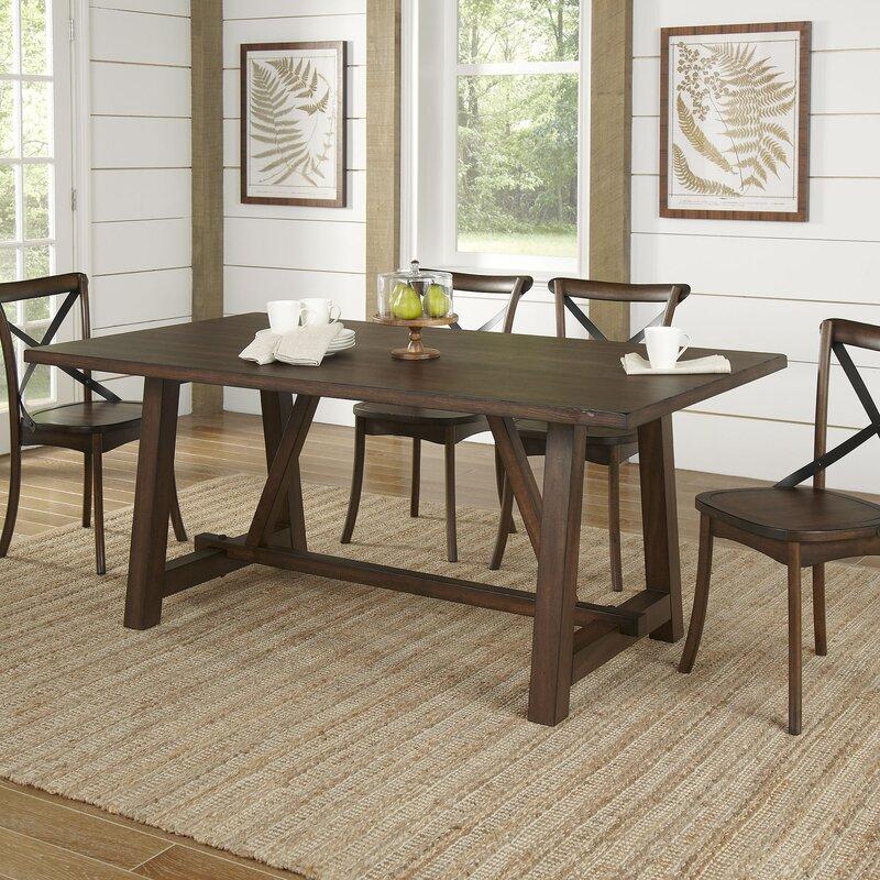 Birch Lane™ Romney Rectangular Dining Table & Reviews | Wayfair