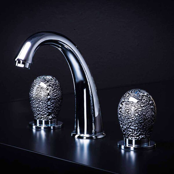 Murano 3 Hole Luxury Widespread Bathroom Faucet by Maestro Bath